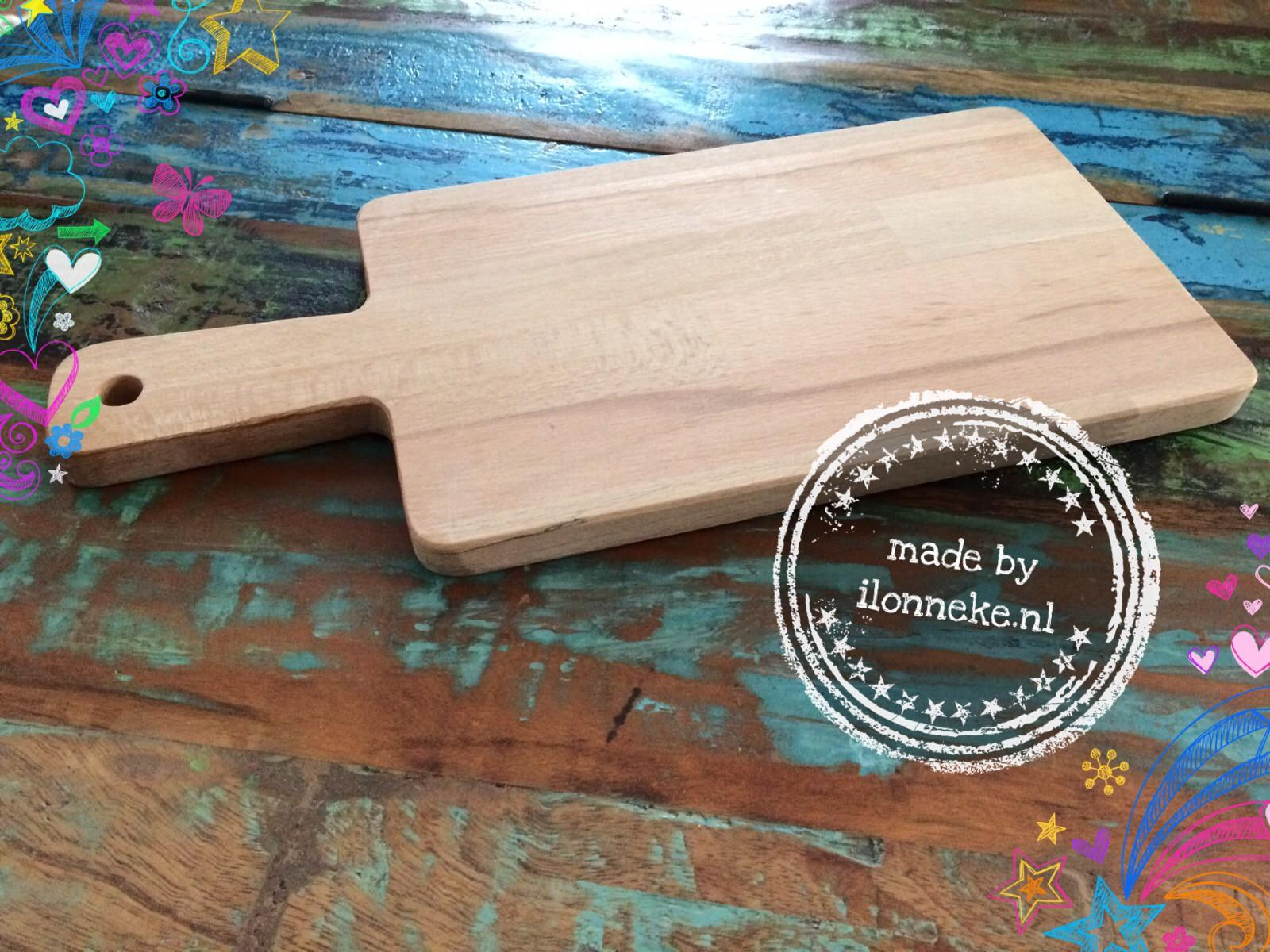 houten plank zelf vervaardigd